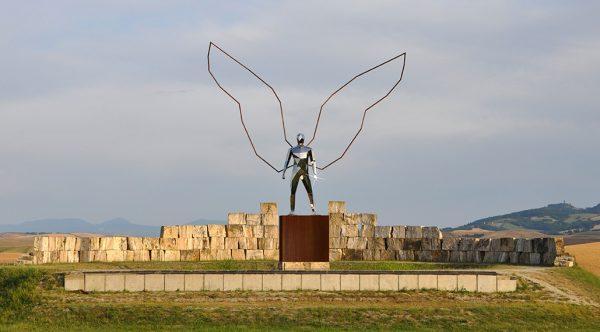 Daniele Basso, Gabriel, installation view al Teatro del Silenzio