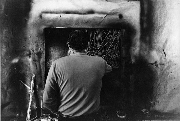 Emilio Scanavino, Calice Ligure (Savona), anni Sessanta
