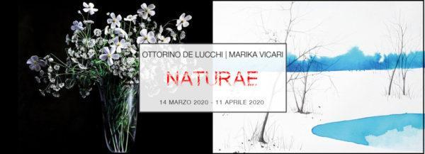Ottorino De Lucchi & Marika Vicari   NATURAE   PUNTO SULL'ARTE