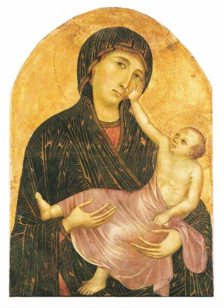 CIMABUE, Madonna con il Bambino. Crediti fotografici: Museo di Santa Verdiana, Castelfiorentino