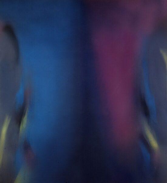 Claudio Olivieri, Metempsicosi, 1984, olio su tela, 220x200 cm Ph. Fabio Mantegna. Courtesy Archivio Claudio Olivieri, Milano